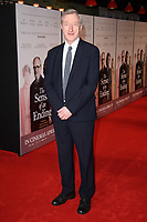 wirter, Julian Barnes<br /> arriving for the premiere of &quot;The Sense of an Ending&quot; at the Picturehouse Central, London.<br /> <br /> <br /> &copy;Ash Knotek  D3244  06/04/2017