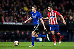 Jan Gregus (L) of FC Copenhague battles for the ball with Jorge Resurreccion Merodio, Koke, of Atletico de Madrid during the UEFA Europa League 2017-18 Round of 32 (2nd leg) match between Atletico de Madrid and FC Copenhague at Wanda Metropolitano  on February 22 2018 in Madrid, Spain. Photo by Diego Souto / Power Sport Images