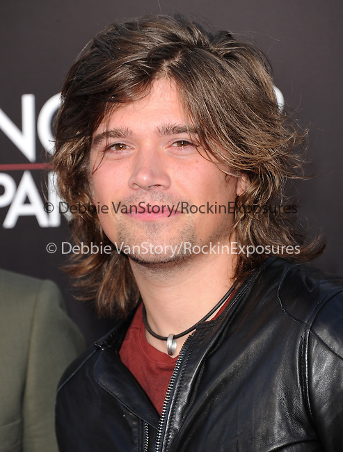 Zac Hanson of HANSON at The Warner Bros. Pictures' L.A Premiere of  THE HANGOVER: PART III held at The Westwood Village Theater  in Westwood, California on May 20,2013                                                                   Copyright 2013 © Hollywood Press Agency