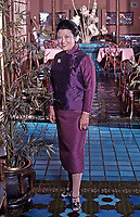 Restauranteur and chef Cecilia Chiang in her Restaurant, the Mandarin, in San Francisco, July 1977. Photo by John G. Zimmerman.