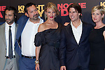 SEVILLE, Spain (16/06/2010).- Spanish actor Jordy Molla (L), US director James Mangold (2L), Hollywood stars Cameron Diaz (L) and Tom Cruise pose on the red carpet prior to the international film premiere of their new film 'Knight and Day' by US director James Mangold in Sevilla ..Photo: Cesar Cebolla / ALFAQUI