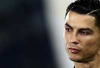 Football, Serie A: S.S. Lazio - Juventus Olympic stadium, Rome, December 7, 2019. <br /> Juventus' Cristiano Ronaldo prior to the Italian Serie A football match between S.S. Lazio and Juventus at Rome's Olympic stadium, Rome on December 7, 2019.<br /> UPDATE IMAGES PRESS/Isabella Bonotto