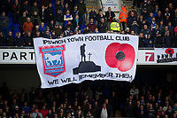 We will remember them during Ipswich Town vs Preston North End, Sky Bet EFL Championship Football at Portman Road on 3rd November 2018