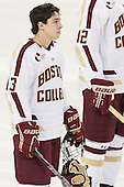 Johnny Gaudreau (BC - 13) - The Boston College Eagles defeated the visiting Dartmouth College Big Green 6-3 (EN) on Saturday, November 24, 2012, at Kelley Rink in Conte Forum in Chestnut Hill, Massachusetts.