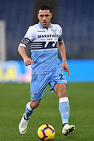 Romulo of Lazio in action during the Serie A 2018/2019 football match between Lazio and Empoli at stadio Olimpico, Roma, February 7, 2019 <br />  Foto Andrea Staccioli / Insidefoto