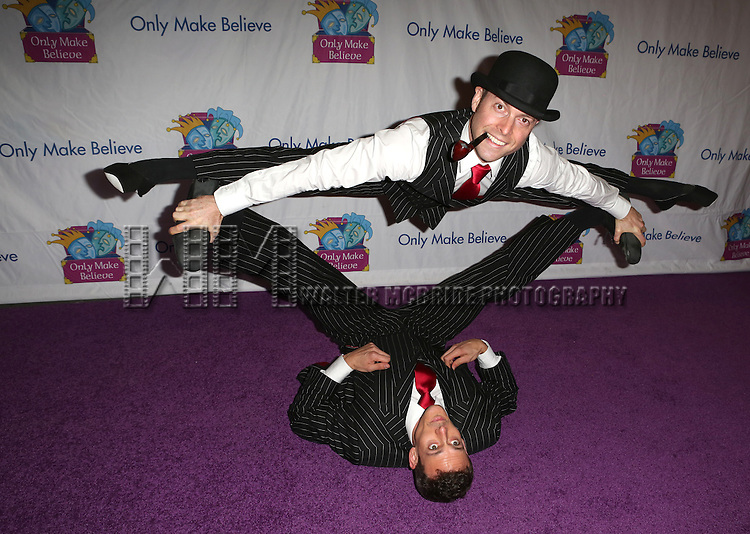Hamish McCann and Denis Lock attend the 14th Annual 'Only Make Believe' Gala at the Bernard B. Jacobs Theatre on November 4, 2013  in New York City.