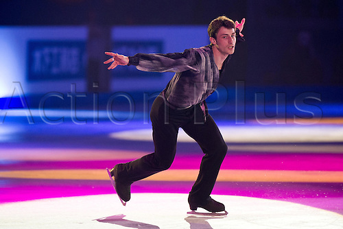 31.03.2012. Nice, France.  Brian Joubert (FRA), APRIL 1, 2012 - Figure Skating : Gala Exibition during the ISU Figure Skating World Championship 2012, at Palais Des Expositions, Nice, France,
