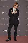 LOS ANGELES, CA - NOVEMBER 04: Songwriter/musician Yoshiki attends the 2017 LACMA Art + Film Gala Honoring Mark Bradford and George Lucas presented by Gucci at LACMA on November 4, 2017 in Los Angeles, California.