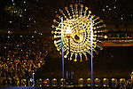 Paralympic flame,<br /> SEPTEMBER 7, 2016 : Opening Ceremony at Maracana <br /> during the Rio 2016 Paralympic Games in Rio de Janeiro, Brazil. <br /> (Photo by Shingo Ito/AFLO)