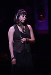"""Eva Noblezada during the Broadway Press Performance Preview of """"Hadestown""""  at the Walter Kerr Theatre on March 18, 2019 in New York City."""