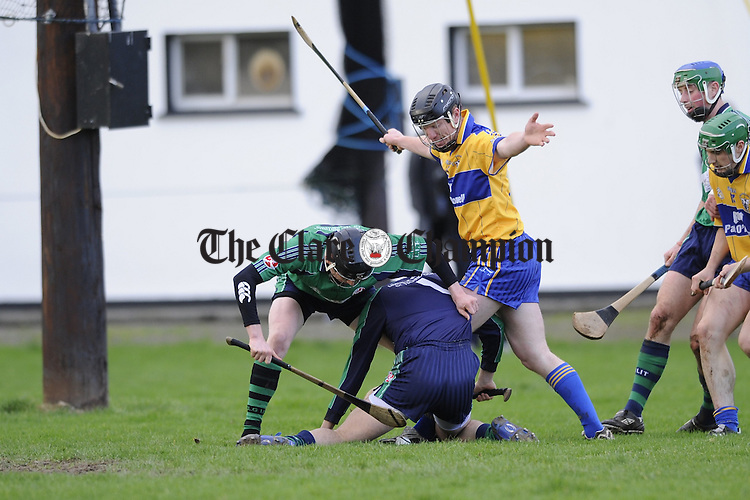 Clare v LIT hurling at Meelick.Pic Arthur Ellis.