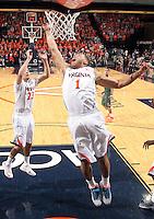 Virginia guard Justin Anderson (1) during an NCAA basketball game Saturday Feb, 24, 2014 in Charlottesville, VA. Virginia defeated Miami 65-40.