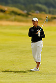 Catriona Matthew during the final round  of the 2016 Aberdeen Asset Management Ladies Scottish Open played at Dundonald Links Ayrshire from 22nd to 24th July 2016:  Picture Stuart Adams, www.golftourimages.com: 22/07/2016
