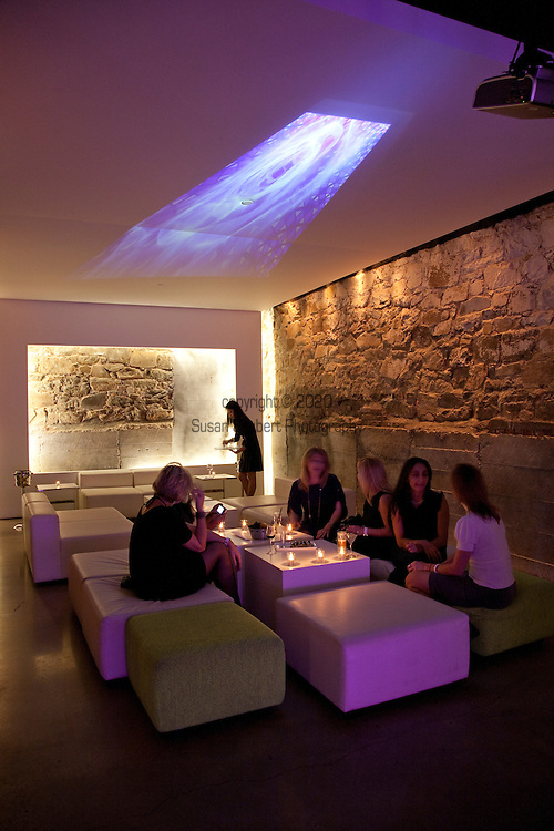 L2 - a lounge and nightclub in Georgetown's Cady's alley features two bars, international music all served up in a very architecturally hip environment.