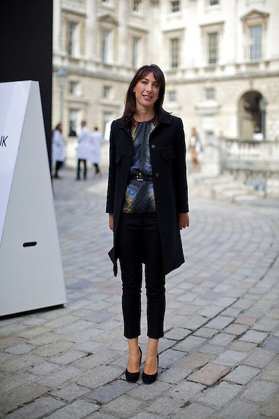 Samantha Cameron, London, London Fashion Week, Somerset House, Street Style