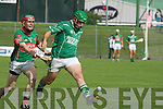 Ballyduff in action with Sean Weir (Crotta) in the  Garvey's SuperValu Senior Hurling Championship 2014 Quarter Finals at Austin Stack Park, Tralee on Saturday.