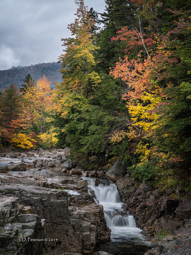Rocky Gorge, White Mountains, New Hampshire