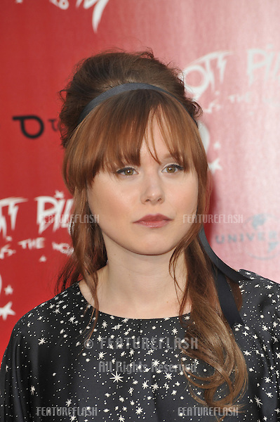"""Alison Pill at the world premiere of her new movie """"Scott Pilgrim vs. The World"""" at Grauman's Chinese Theatre, Hollywood..July 27, 2010  Los Angeles, CA.Picture: Paul Smith / Featureflash"""