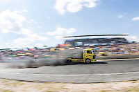 Spanish driver Alberto Mila Monteserin belonging Spanish team Alberto Mila Monteserin  during the fist race R1 of the XXX Spain GP Camion of the FIA European Truck Racing Championship 2016 in Madrid. October 01, 2016. (ALTERPHOTOS/Rodrigo Jimenez) /NortePHOTO /NORTEPHOTO.COM