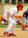 14 March 2007: St. Louis Cardinals third baseman Scott Spiezio in the action against the Washington Nationals at Roger Dean Stadium in Jupiter, Florida...Mandatory Photo Credit: Ed Wolfstein Photo