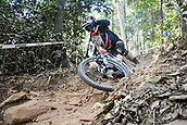8th September 2017, Smithfield Forest, Cairns, Australia; UCI Mountain Bike World Championships; Greg Williamson (GBR) riding for Cube Global Squad Protected by Bliss  during the downhill official timed session;