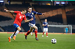 23.3.2018: Scotland v Costa Rica:<br /> Christian Gamboa and Andy Robertson