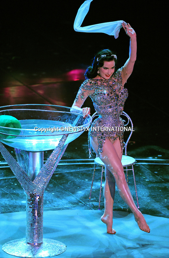 """DITA VON TEESE.1st Night of the 60th Festival of Italian Song, San Remo, Italy_16/02/2010.Mandatory Credit Photo: ©NEWSPIX INTERNATIONAL..**ALL FEES PAYABLE TO: """"NEWSPIX INTERNATIONAL""""**..IMMEDIATE CONFIRMATION OF USAGE REQUIRED:.Newspix International, 31 Chinnery Hill, Bishop's Stortford, ENGLAND CM23 3PS.Tel:+441279 324672  ; Fax: +441279656877.Mobile:  07775681153.e-mail: info@newspixinternational.co.uk"""