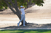 Matt Wallace (ENG) on the 8th during Round 1 of the Abu Dhabi HSBC Championship 2020 at the Abu Dhabi Golf Club, Abu Dhabi, United Arab Emirates. 16/01/2020<br /> Picture: Golffile | Thos Caffrey<br /> <br /> <br /> All photo usage must carry mandatory copyright credit (© Golffile | Thos Caffrey)