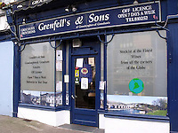 """Pictured: Grenfell's and Sons store in Crickhowell<br /> Re: A shopkeeper groped four female customers and even said one of them that he wanted to photograph her in the nude, Brecon Magistrates court has heard.<br /> 69 year old Raymond Grenfell, was dubbed """"Grabber Grenfell"""" by local shoppers at his convenience store in Crickhowell, Powys, because of his alleged actions.<br /> Grenfell is facing charges of touching, kissing, and making inappropriate comments towards four female customers."""