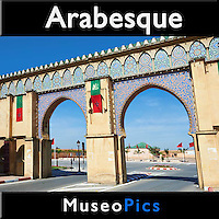 Museopics - Photos of Arabesque Art and Architecture.