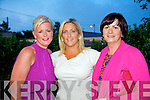 Lisa Ferriter, Dorren Fitzgerald and Nina Long at the 'Our Little Princess' fashion fundraiser on Saturday in the Community Hall in Castlegregory.