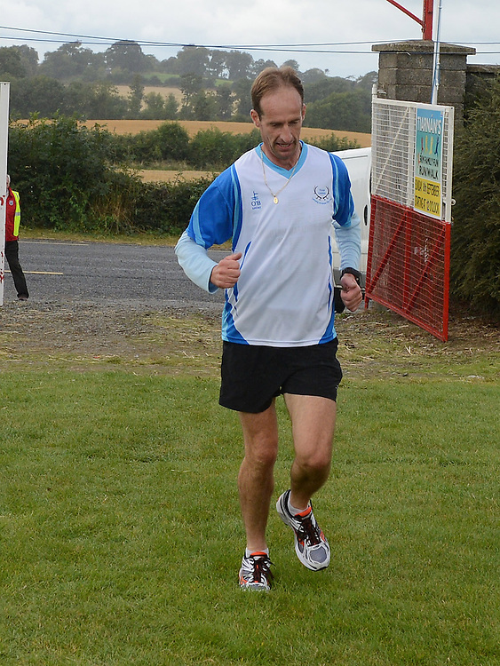 David Carrie who won Tiaran's 5K run at Hunterstown. Photo:Colin Bell/pressphotos.ie