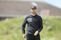 Maxence Catherine (FRA) on the 5th tee during Round 1 of the The Amateur Championship 2019 at The Island Golf Club, Co. Dublin on Monday 17th June 2019.<br /> Picture:  Thos Caffrey / Golffile<br /> <br /> All photo usage must carry mandatory copyright credit (© Golffile | Thos Caffrey)