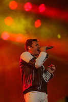 Duran Duran performs at the Festival d'ete de Quebec in Quebec city Friday July 15, 2016.