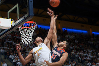 Berkeley, CA - December 21st, 2016:  CAL Men's Basketball's 52-56 loss to Virginia at Haas Pavilion.
