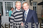 Thomas Randles Kilgarvan with An Taoiseach Enda Kenny on his visit to Killarney last week.