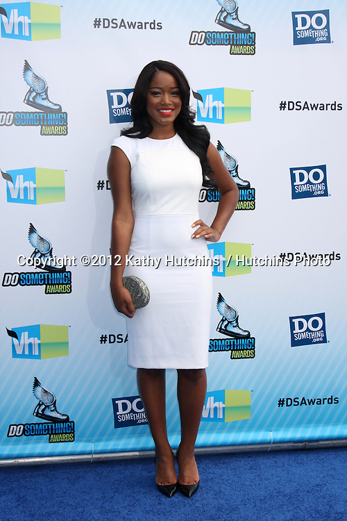 Los Angeles - AUG 19:  Keke Palmer arrives at the 2012 Do Something Awards at Barker Hanger on August 19, 2012 in Santa Monica, CA