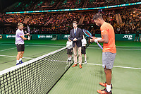 Rotterdam, The Netherlands, 17 Februari 2019, ABNAMRO World Tennis Tournament, Ahoy, Final, Stan Wawrinka (SUI) - Gael Monfils (FRA),<br /> Photo: www.tennisimages.com/Henk Koster