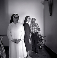 nuns at a<br /> seniors retirement home, circa 1975<br /> in Hull or Ottawa