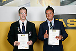 Boys Lawn Bowls finalists Scott Evans & Greg Ruaporo. ASB College Sport Young Sportperson of the Year Awards 2007 held at Eden Park on November 15th, 2007.