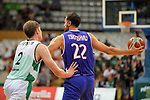 Basketball Champions League 2017/18 - Previus.<br /> Divina Seguros Joventut vs Dinamo Tbilisi: 86-66.<br /> Simon Birgander vs Nikoloz Tskitishvili.