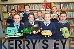 Pupils at Faha National School are working on numerous initiatives to get their fourth green flag among them .Pupils from third and fourth class have built their own 'Green cars' from recyclable materials .Back L-R Eoin Blake, Cian and Sean O'Sullivan, Alyssa Fleming. .Front L-R Clare O'Leary, Nicola Giles, Ciara O'Shea, William Mangan.