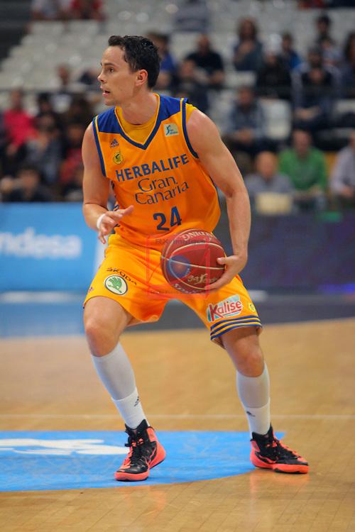 League ACB-ENDESA 2016/2017. Game: 28.<br /> Divina Seguros Joventut vs Herbalife Gran Canaria: 86-72.<br /> Kyle Kuric.