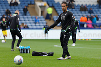 Wayne Routledge of Swansea City warms up prior to the game during the Sky Bet Championship match between Sheffield Wednesday and Swansea City at Hillsborough Stadium, Sheffield, England, UK. Saturday 09 November 2019