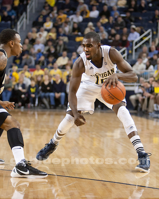 University of Michigan men's basketball beat Arkansas-Pine Bluff 63-50 at Crisler Arena in Ann Arbor, Mich., on December 13, 2011.