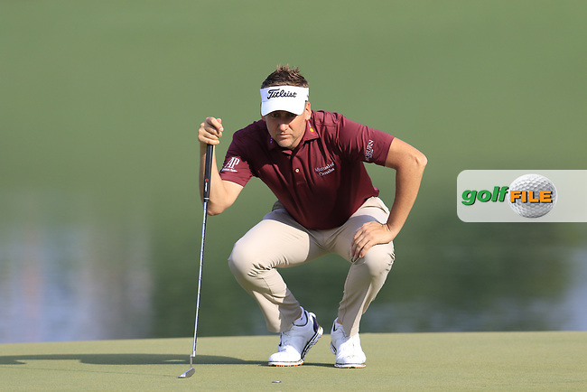 Ian Poulter (ENG) on the 14th green during Thursday's Round 1 of the 2017 PGA Championship held at Quail Hollow Golf Club, Charlotte, North Carolina, USA. 10th August 2017.<br /> Picture: Eoin Clarke | Golffile<br /> <br /> <br /> All photos usage must carry mandatory copyright credit (&copy; Golffile | Eoin Clarke)