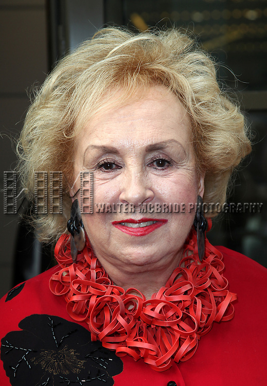 Doris Roberts.attending the Opening Night Performance of The Masnhattan Theatre Club's  'Master Class' at the Samuel J. Friedman Theatre in New York City.