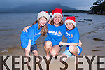 Nikki McCarthy and her children Oscar and Mischa who are preparing for the Christamas Day Dip in Dundag beach Killarney in aid of Aware