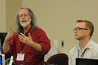 during The Kalish workshop at Ball State University in Muncie, Indiana, Thursday, June 14, 2012.  Photo by Kevin Martin