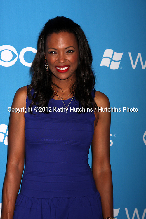 LOS ANGELES - SEP 15:  Aisha Tyler arrives at the CBS 2012 Fall Premiere Party  at Greystone Manor on September 15, 2012 in Los Angeles, CA